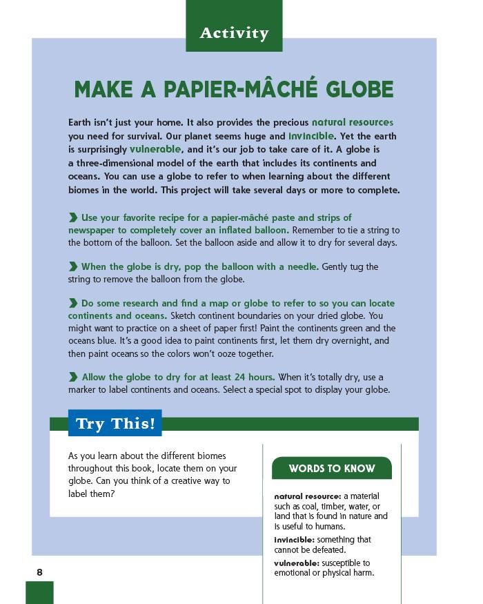 Make a Papier-Mâché Globe