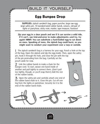 Egg Bungee Drop