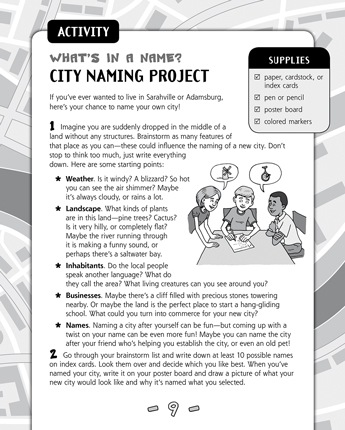 What's in a Name? City Naming Project