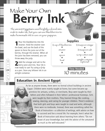 Make Your Own Berry Ink