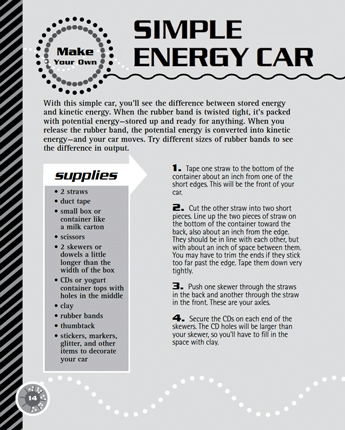 Simple Energy Car