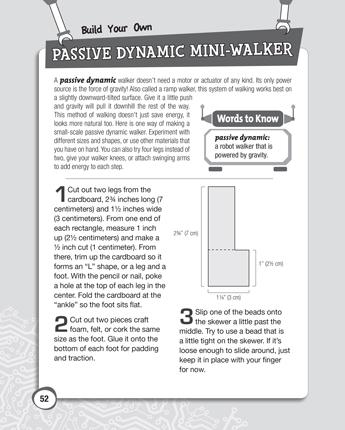Passive Dynamic Mini-Walker