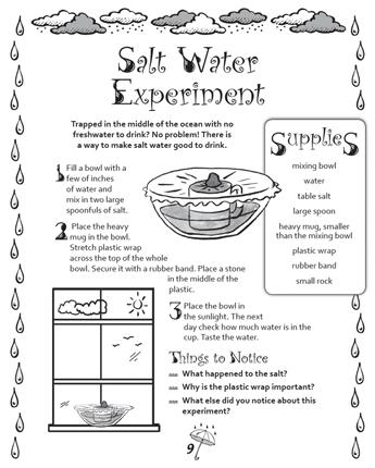 Salt Water Experiment