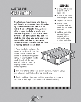 Make Your Own Shake Table