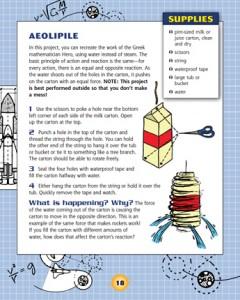 Rocketry Science Technology Rockets Ballistics Aeolipile sample activity project Nomad Press