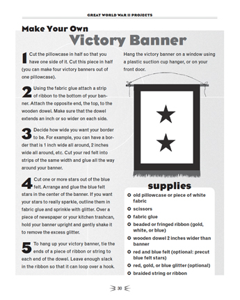 Make Your Own Victory Banner