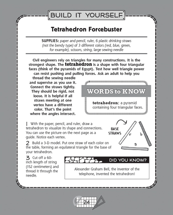Tetrahedron Forcebuster