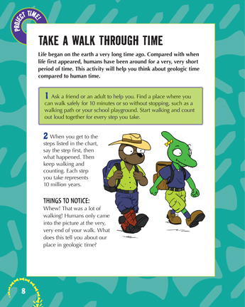 Take a Walk Through Time