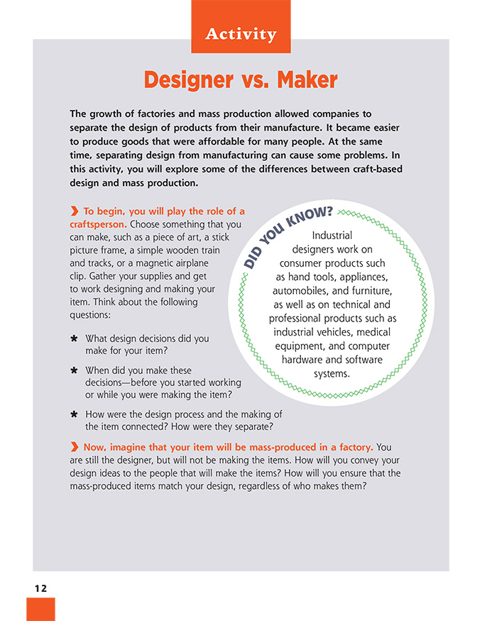 Designer vs. Maker