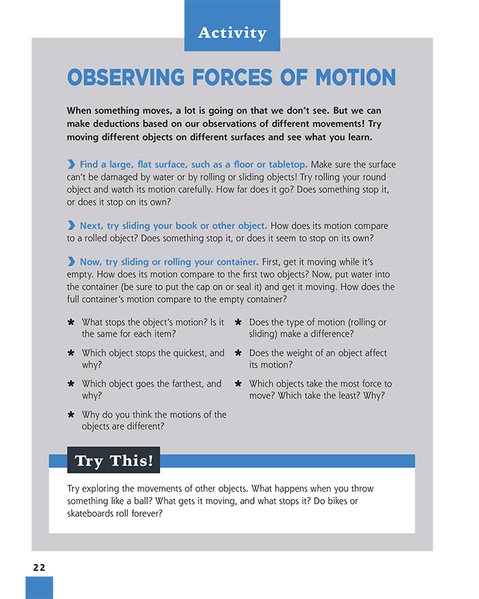 Observing Forces Of Motion