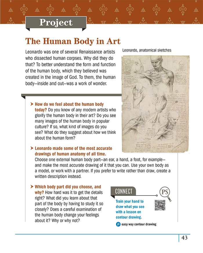 The Human Body in Art