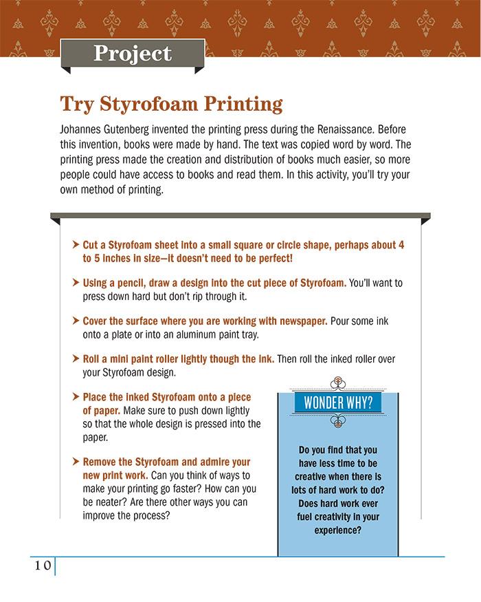 Try Styrofoam Printing