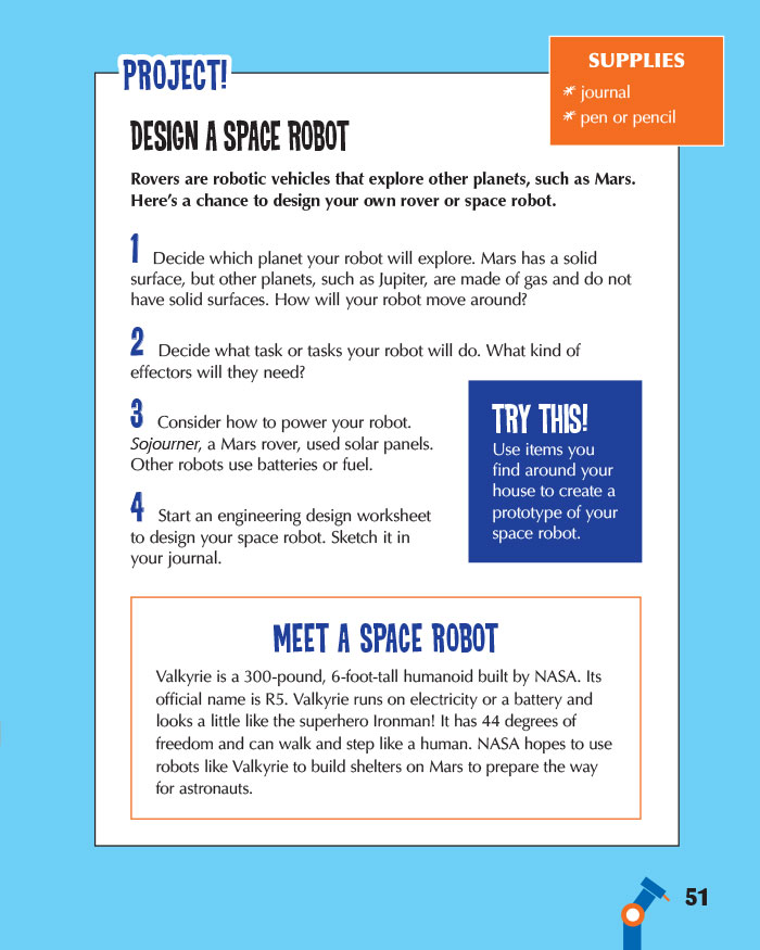 Design a Space Robot