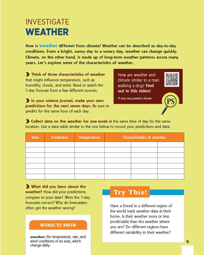 Investigate Weather