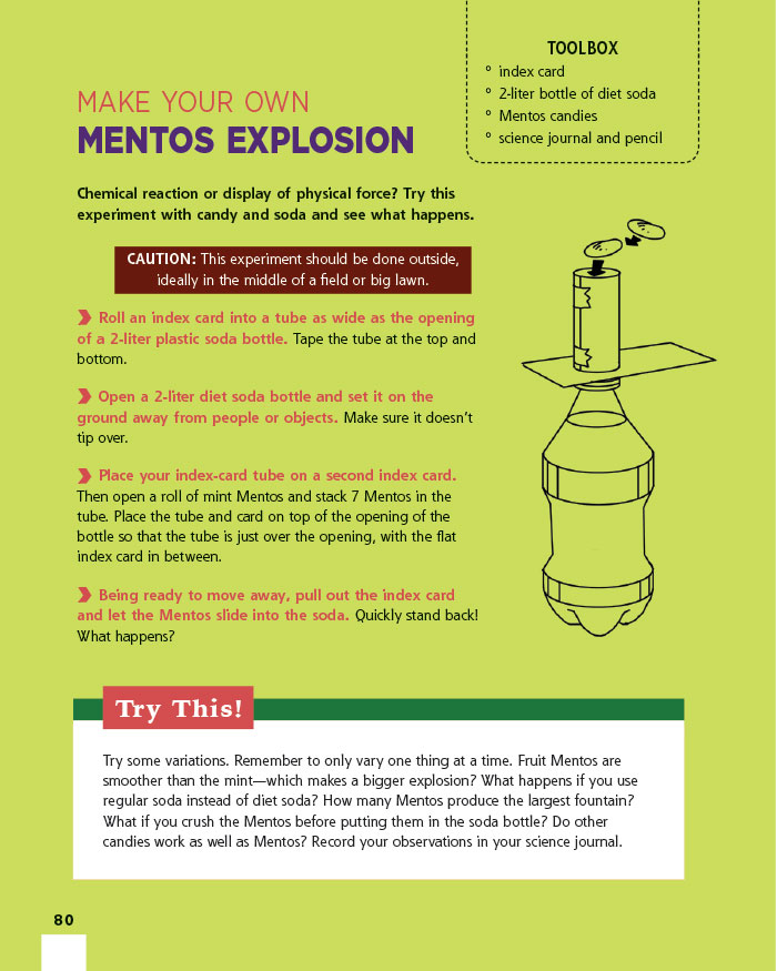 Make Your Own Mentos Explosion
