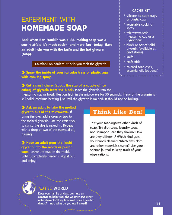 Experiment with Homemade Soap