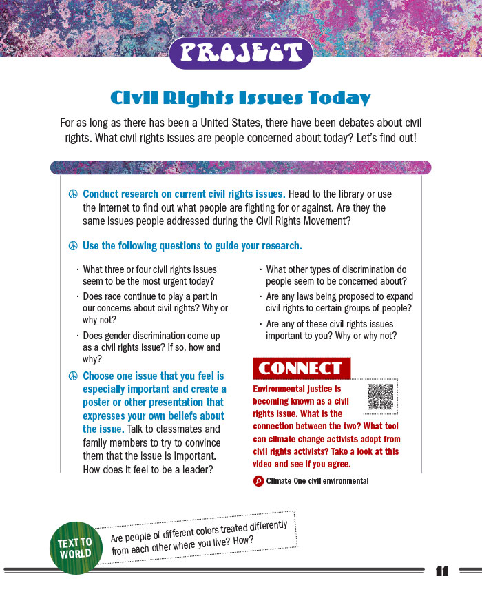Civil Rights Issues Today