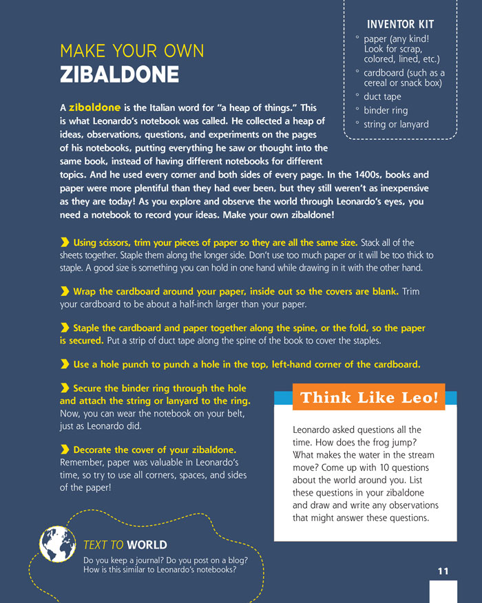 Make Your Own Zibaldone