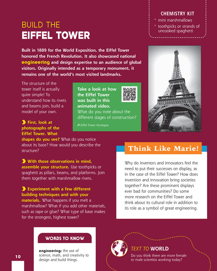 Build the Eiffel Tower