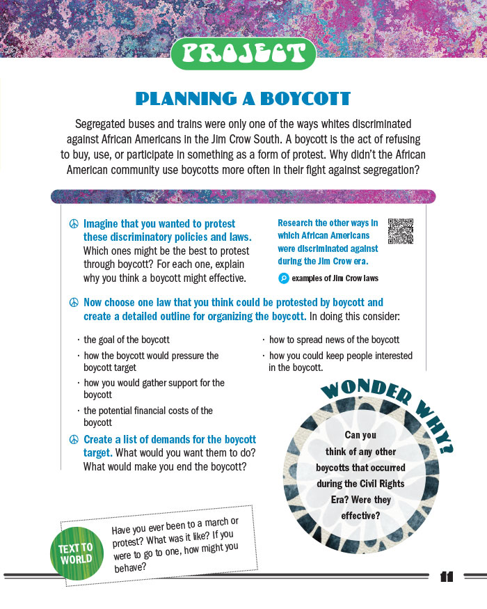 Planning a Boycott