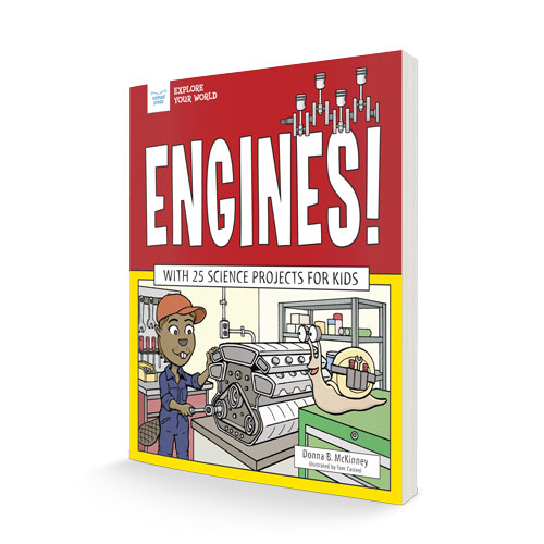 book cover for Engines!