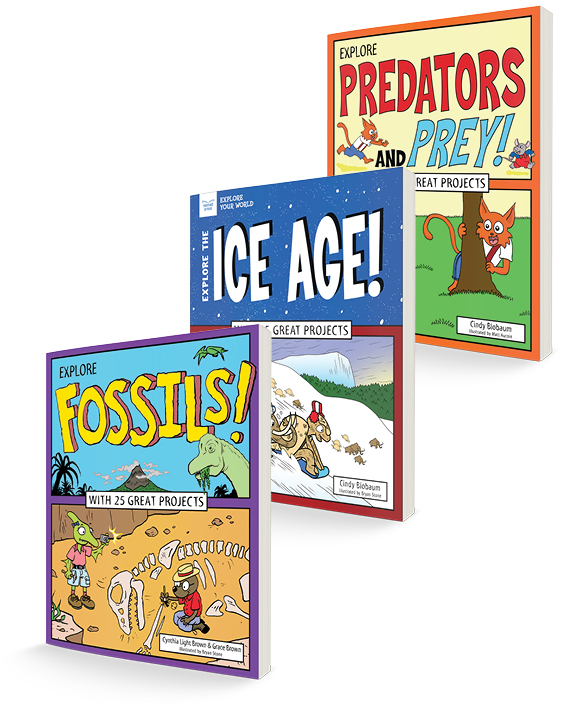 Discover Ancient Animal Life! Three-Title Book Bundle