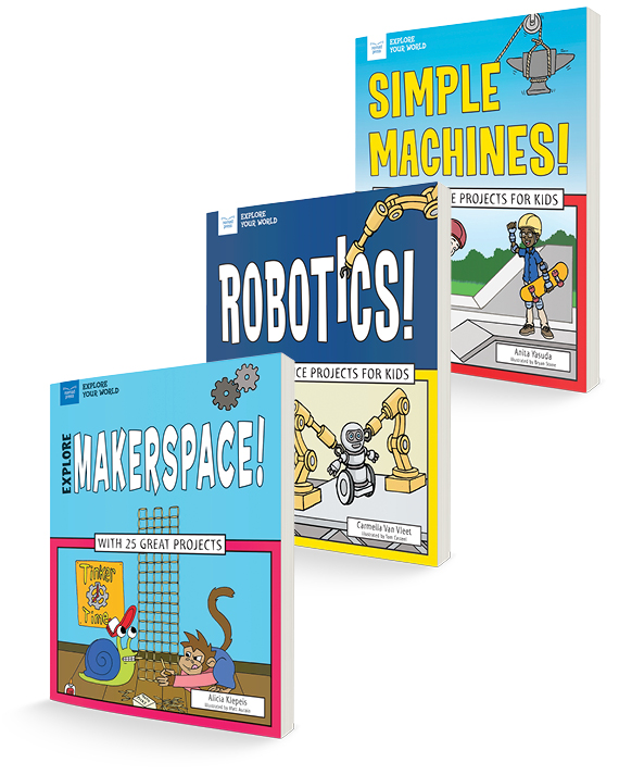 Get Your Engineering On! Three-Title Book Bundle