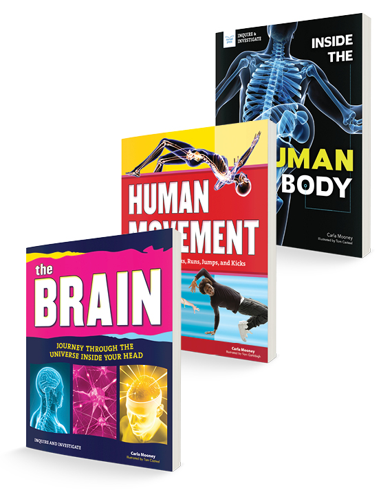 Take a Look Under Your Skin! Three-Title Book Bundle