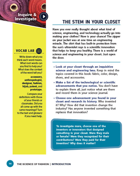 The STEM in Your Closet