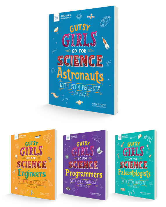 Gutsy Girls Go for Science Book Bundle