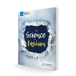 """book standing up """"The Science of Fashion"""""""