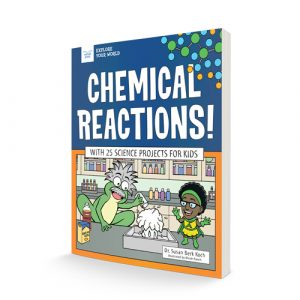 book cover for Chemical Reactions!