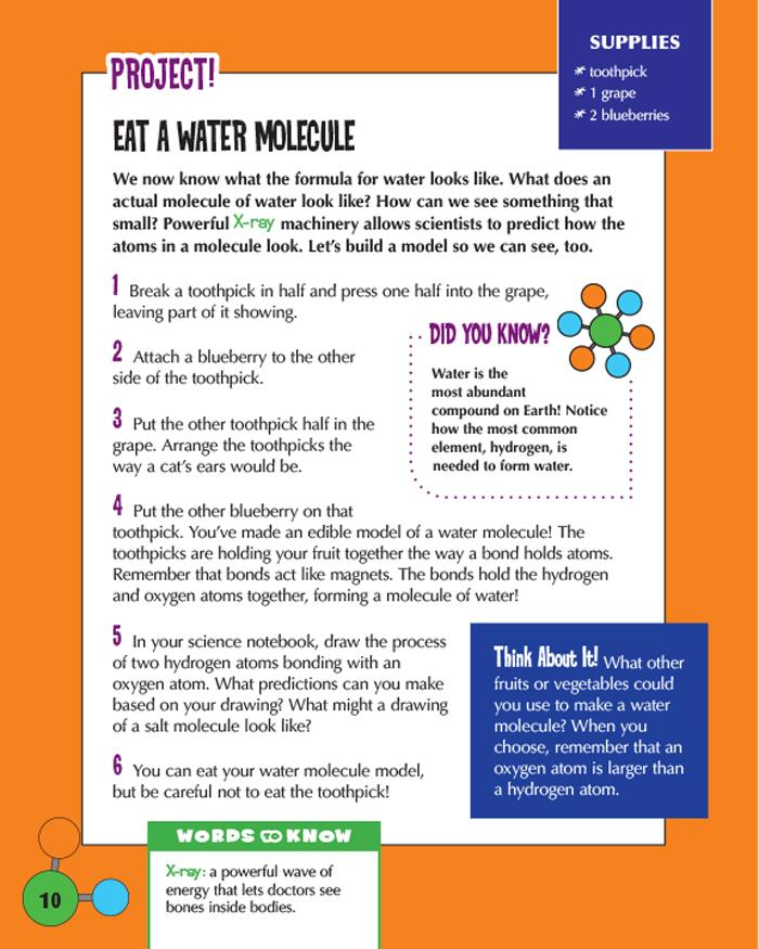Eat a Water Molecule
